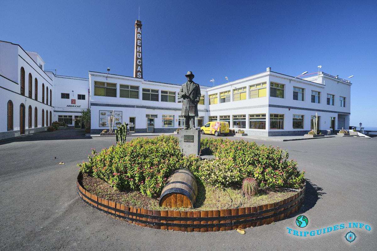Производство рома - завод Arehucas на Гран-Канарии