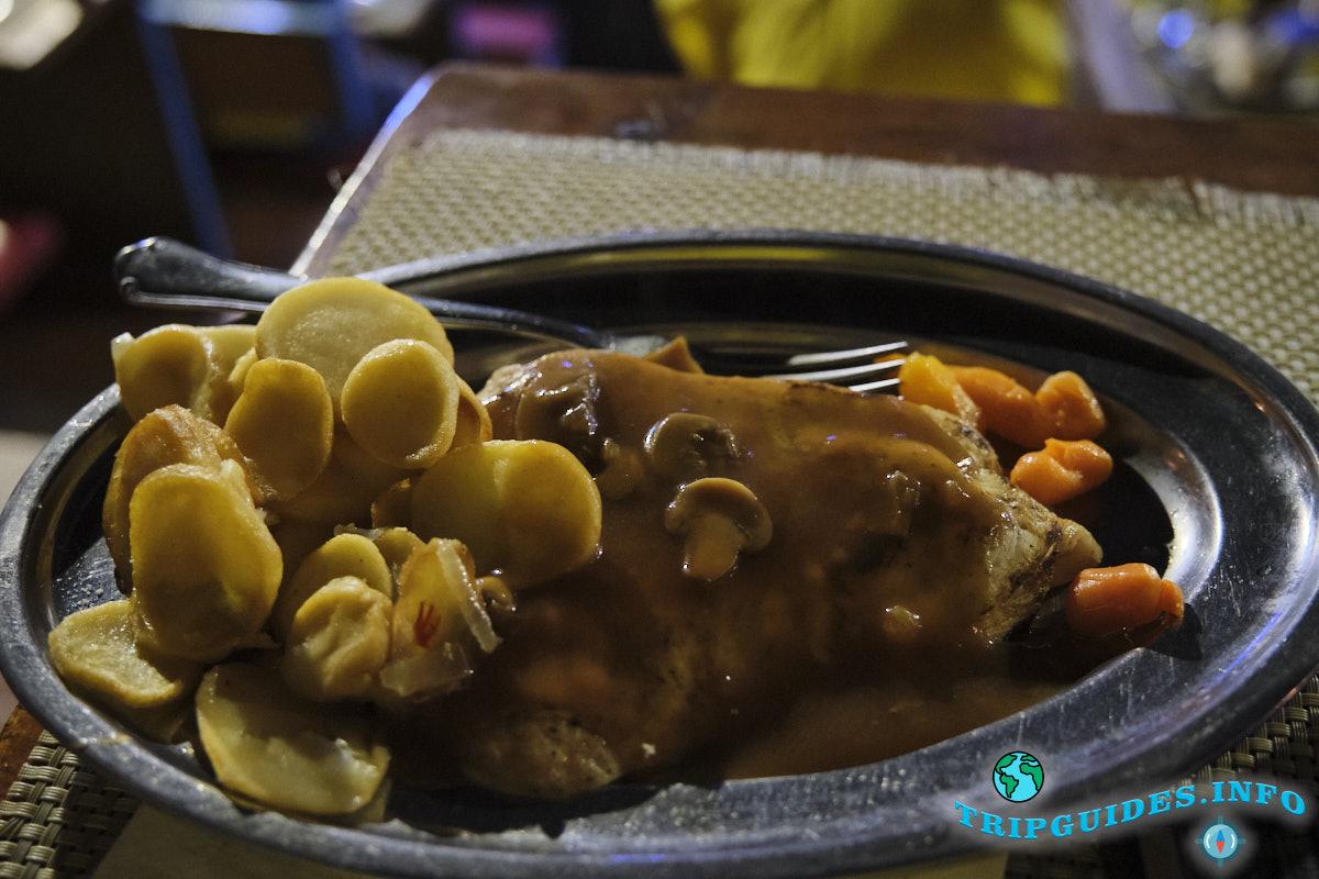 Ужин в Замке Сан-Мигель на Тенерифе
