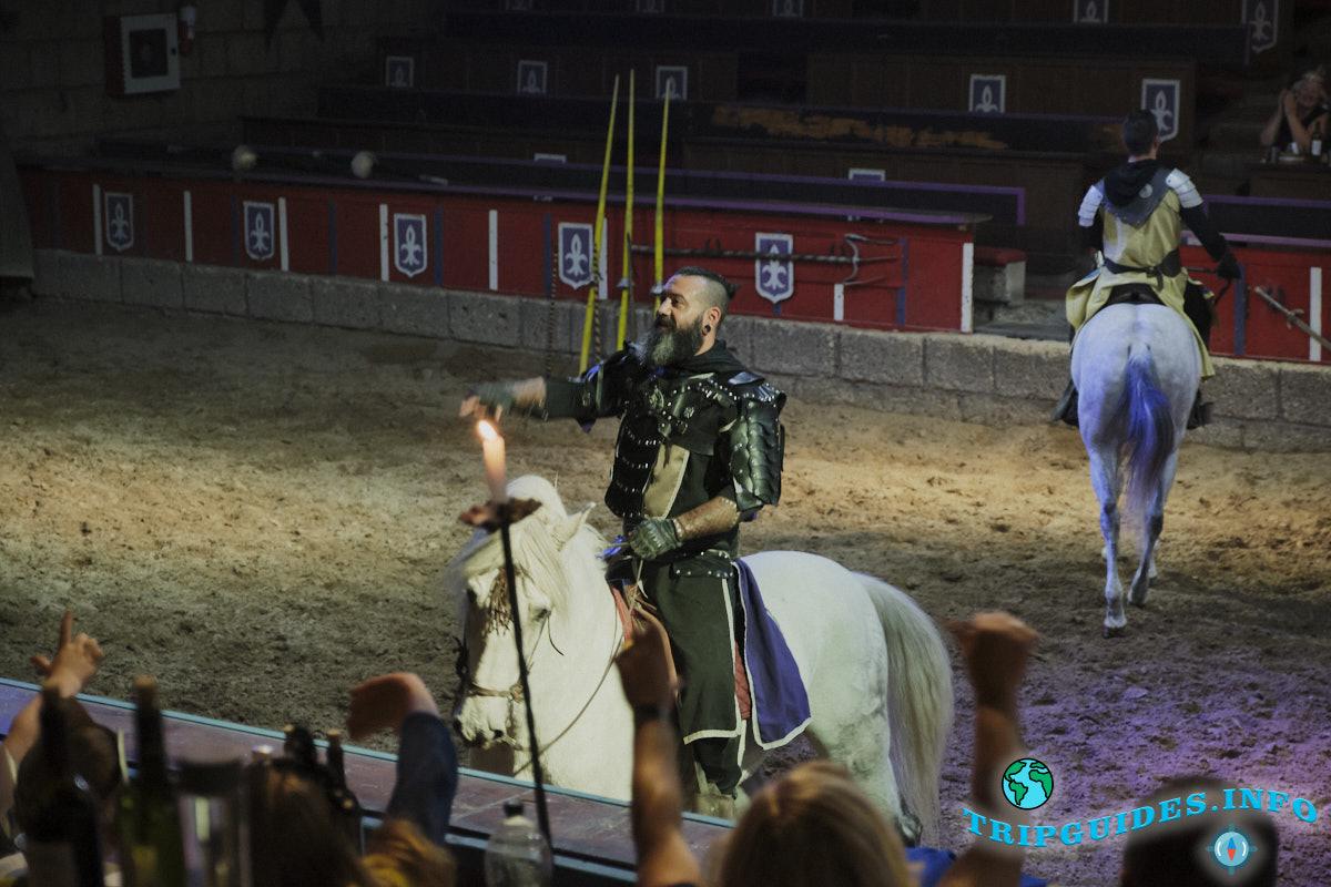 Заказать Рыцарское шоу (представление, турнир) в замке Сан-Мигель на Тенерифе