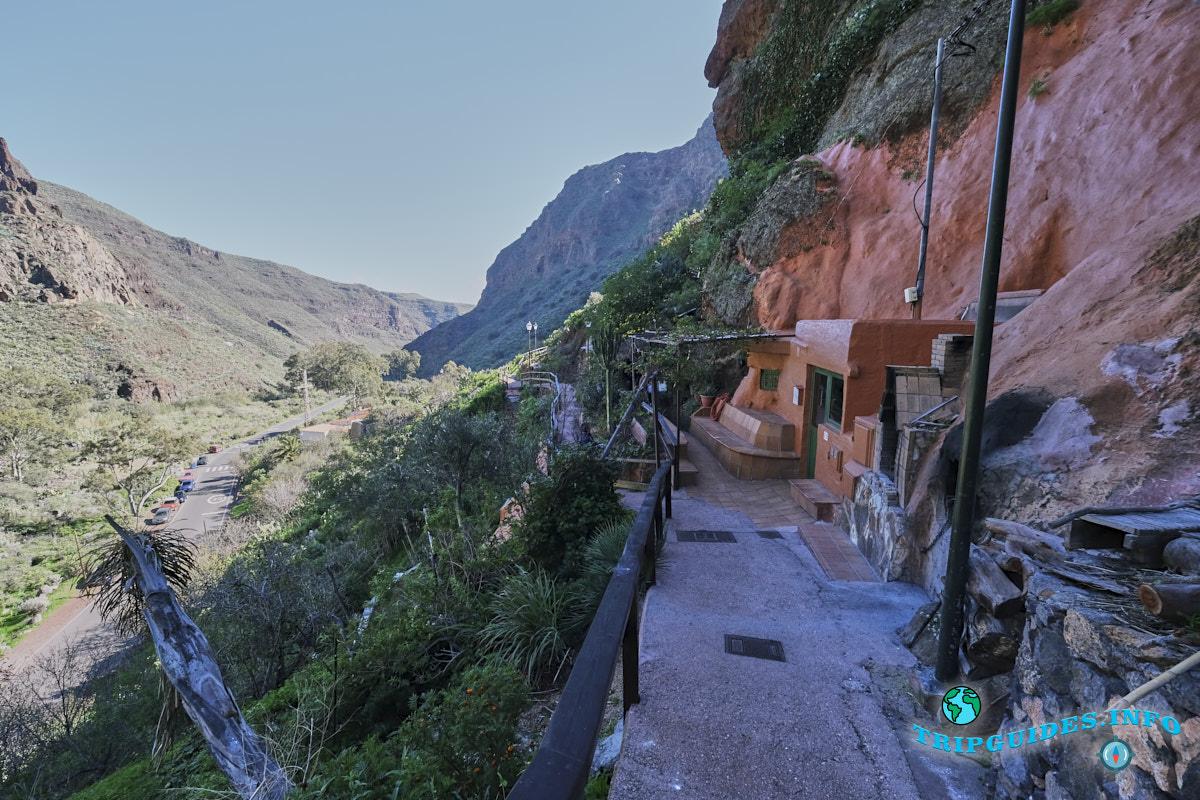 Ущелье Гуайядэке на Гран-Канарии