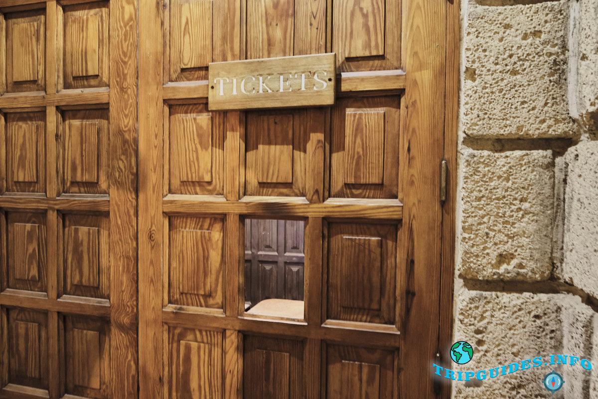 Здесь можно купить билет на рыцарский турнир в замок Сан-Мигель на Тенерифе