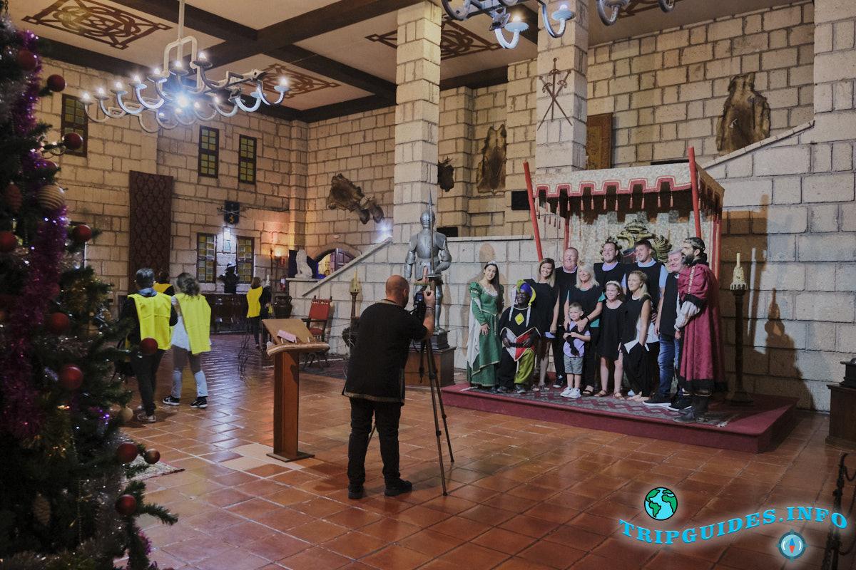 Фотографии на память в замке Сан-Мигель на Тенерифе