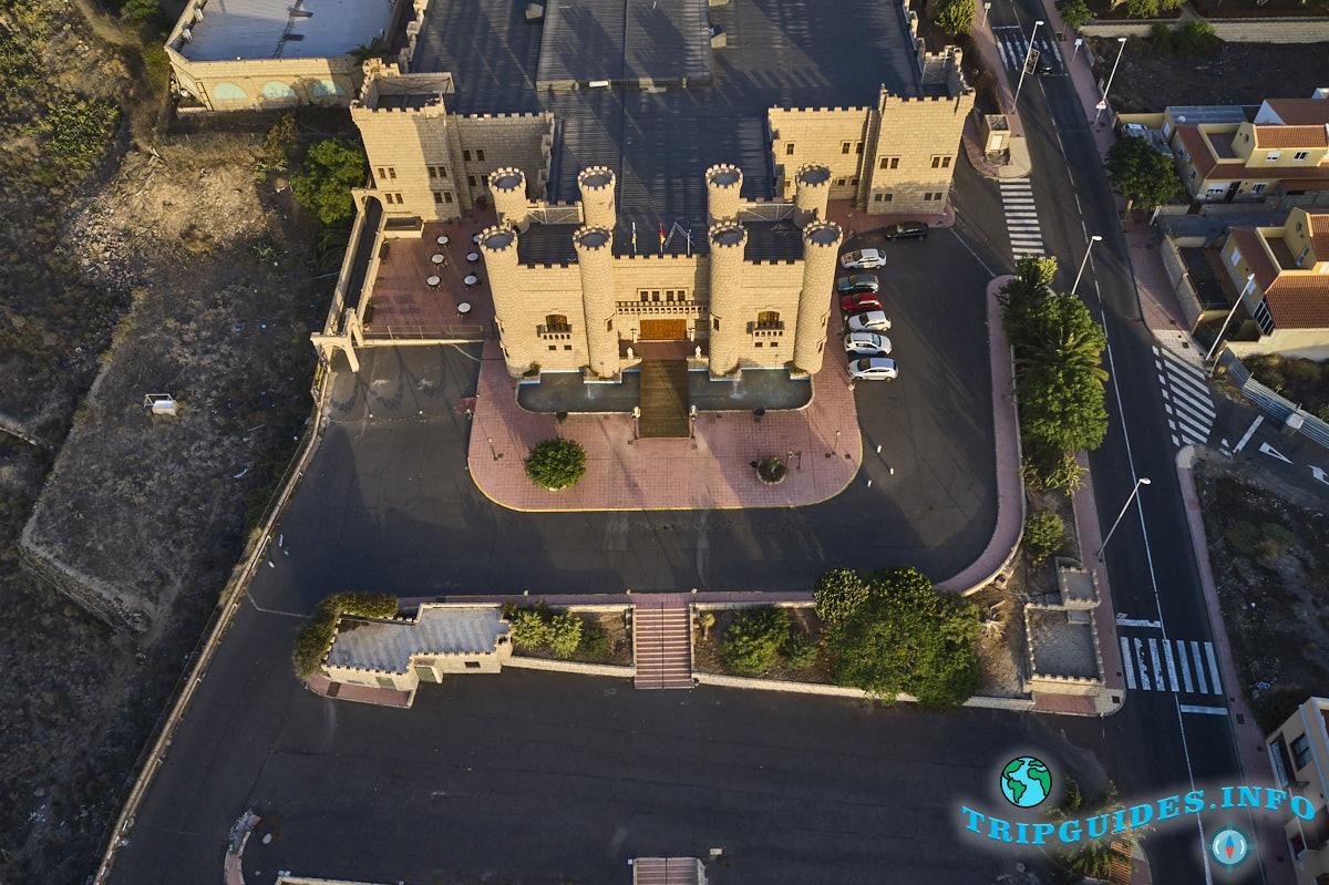 Замок Сан-Мигель на Тенерифе с высоты