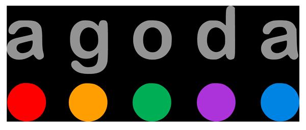 Логотип Agoda