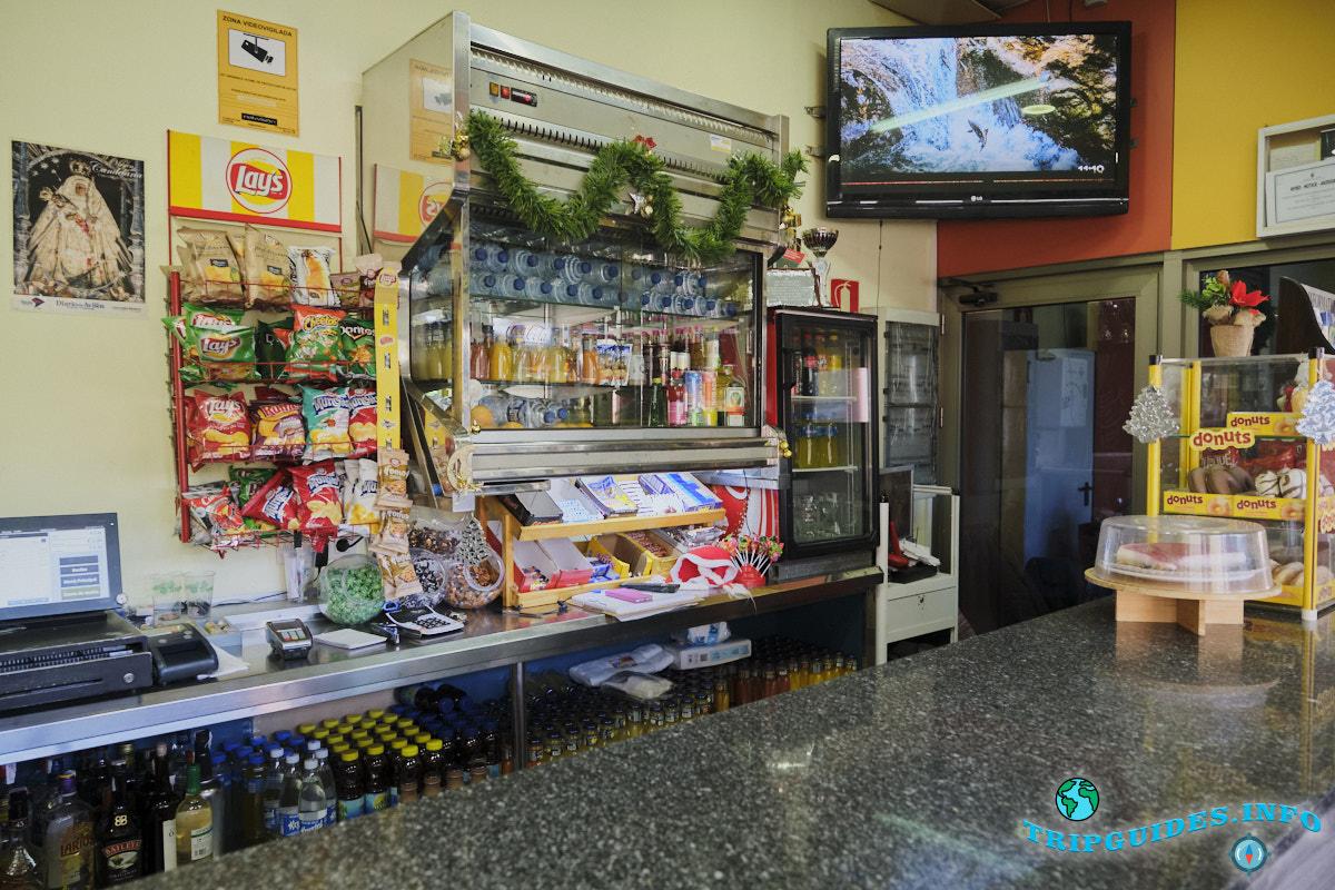 Автовокзал в Коста Адехе на Тенерифе