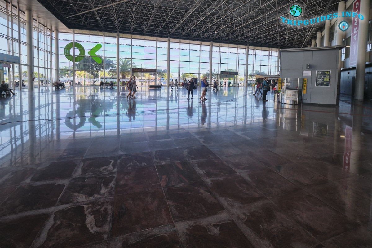 Автовокзал в Санта-Крус-де-Тенерифе