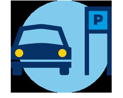Паркинг отеля