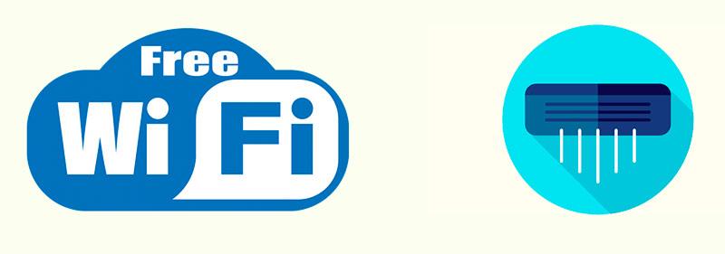 Интернет wifi и кондиционирование воздуха