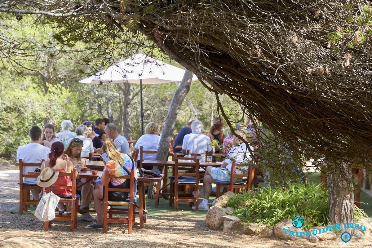 Ресторан Las Puertas del Cielo остров Ибица Испания