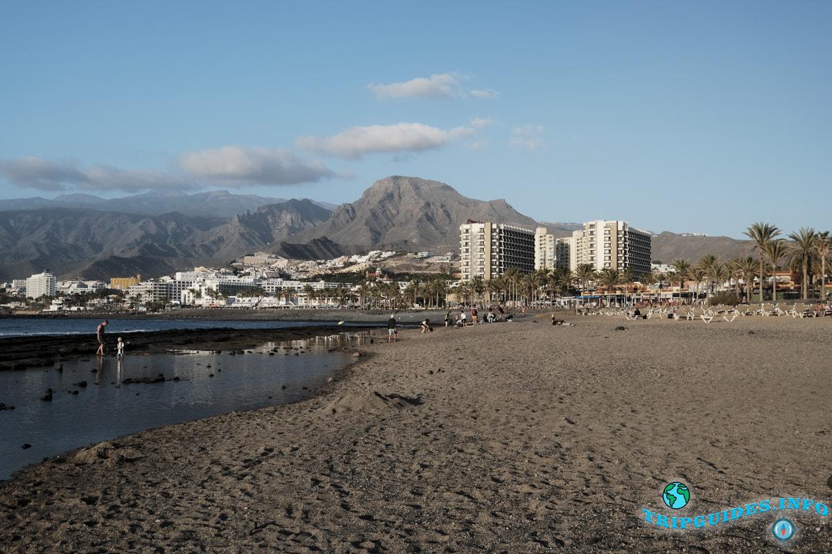 Пляж Хонда (Playa de Honda) курорта Лас Америкс на Тенерифе