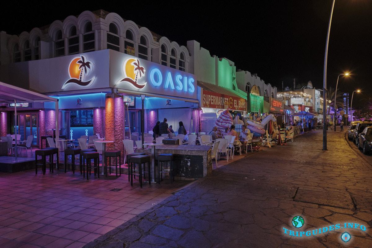 Лас-Вероникас - место для развлечений в Плайя-де-Лас-Америкас на Тенерифе