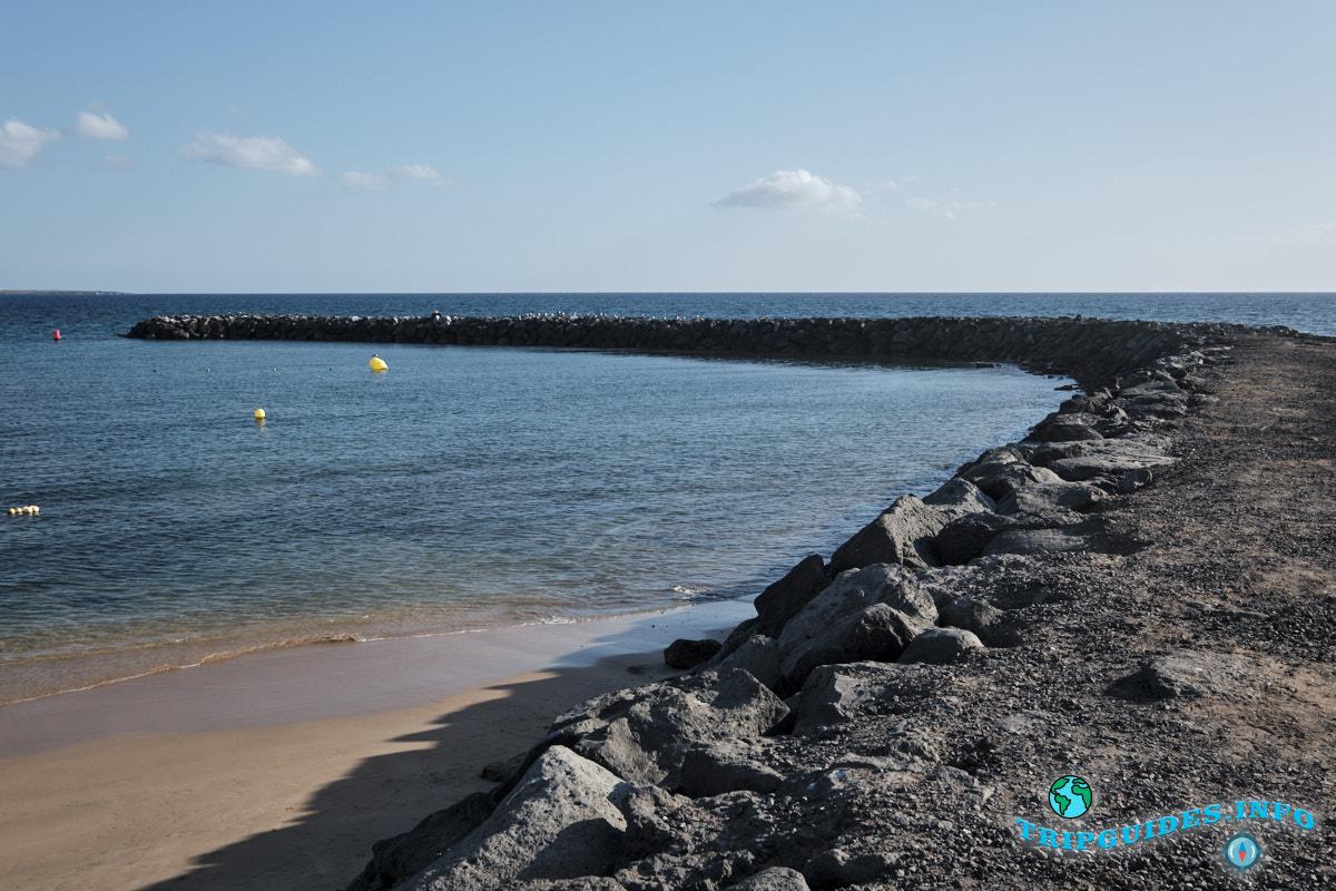 Пляж Волнолом пляжа Эль Камисон (Playa del Camison) - Лас-Америкас Тенерифе