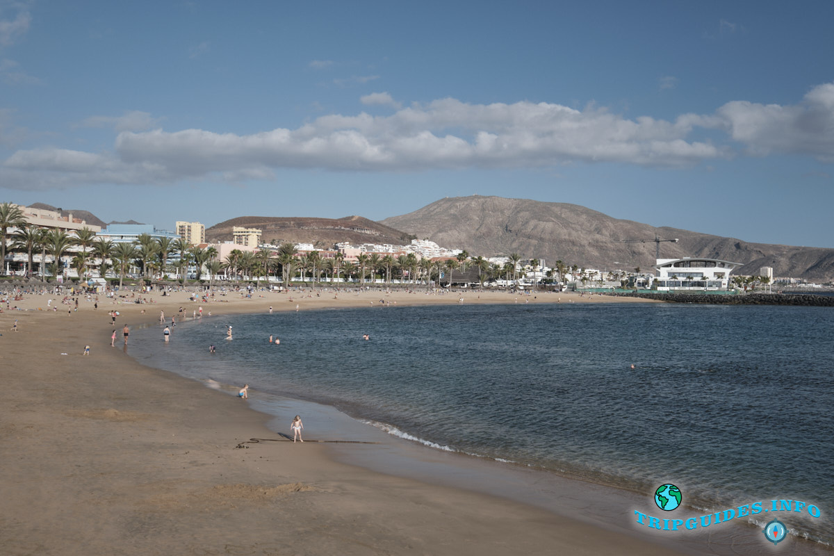 Пляж Эль Камисон (Playa del Camison) - Лас-Америкас Тенерифе