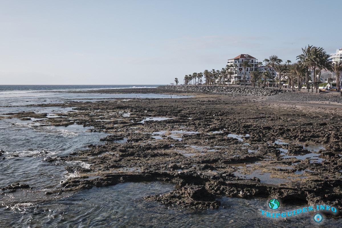 Западнее от пляжа Эль Камисон (Playa del Camison) - Лас-Америкас Тенерифе