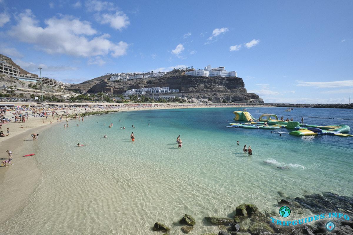 Пляж Лос-Амадорес Гран-Канария Испания