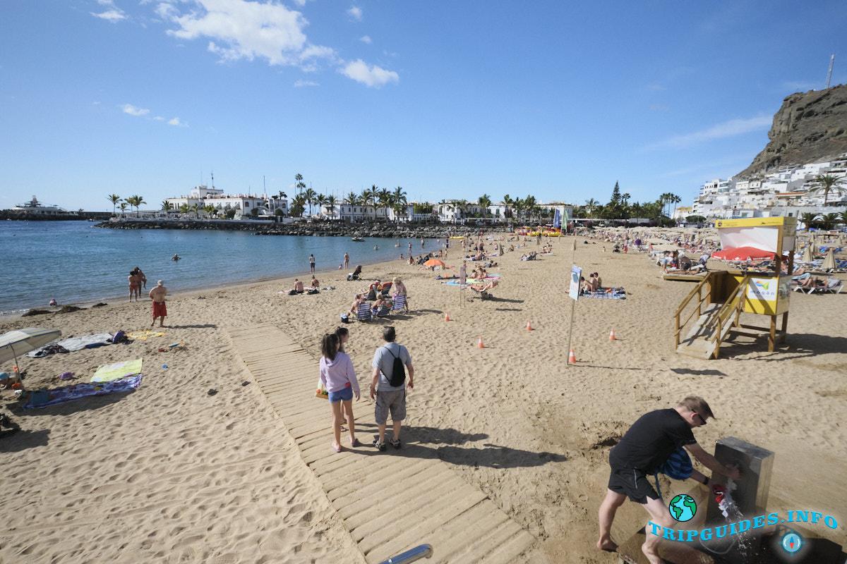 Пляж Моган - остров Гран-Канария