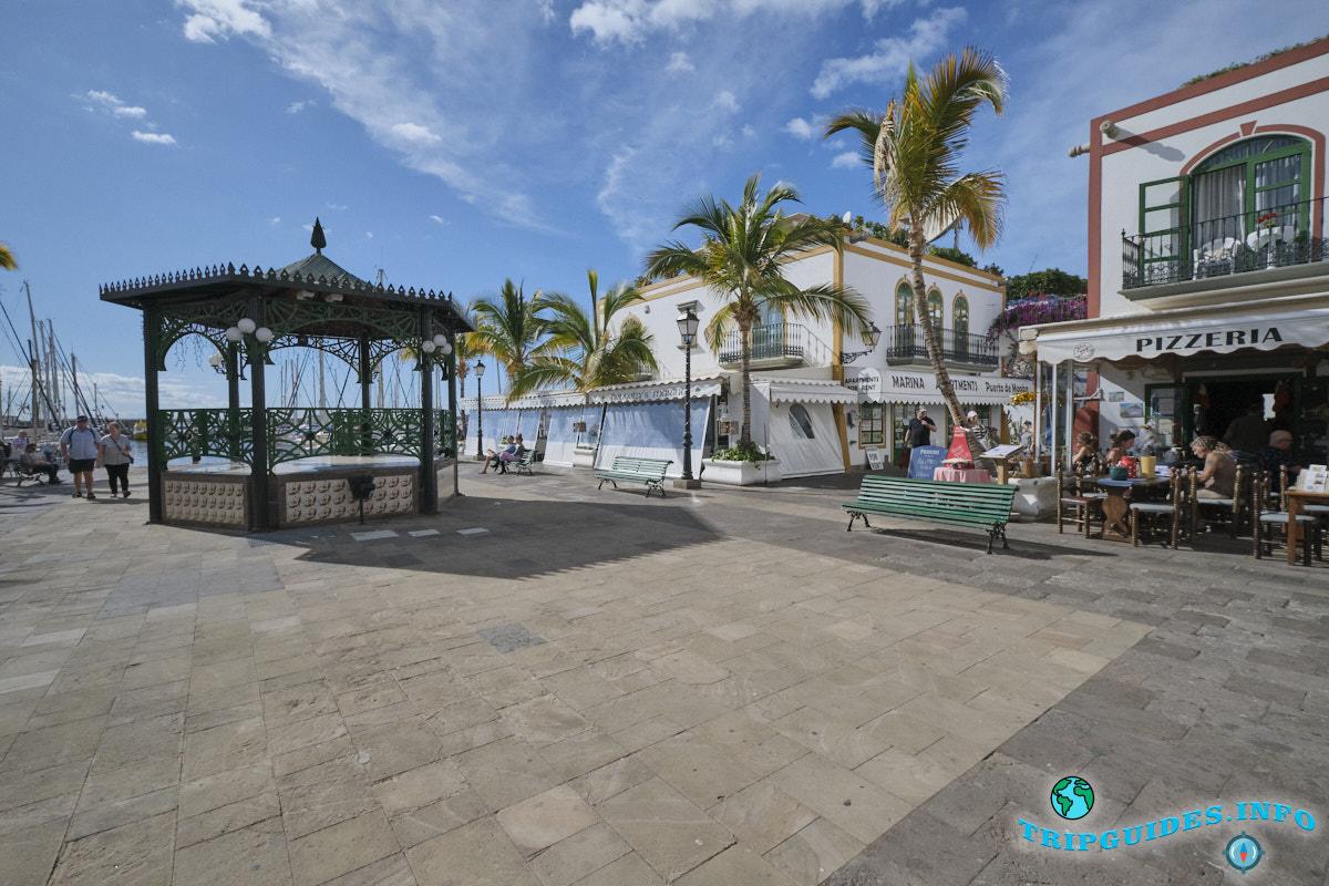 Пуэрто-де-Моган на Гран-Канария - Испания - Канарские острова