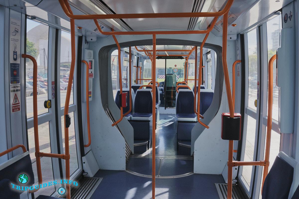 Трамвай на Тенерифе
