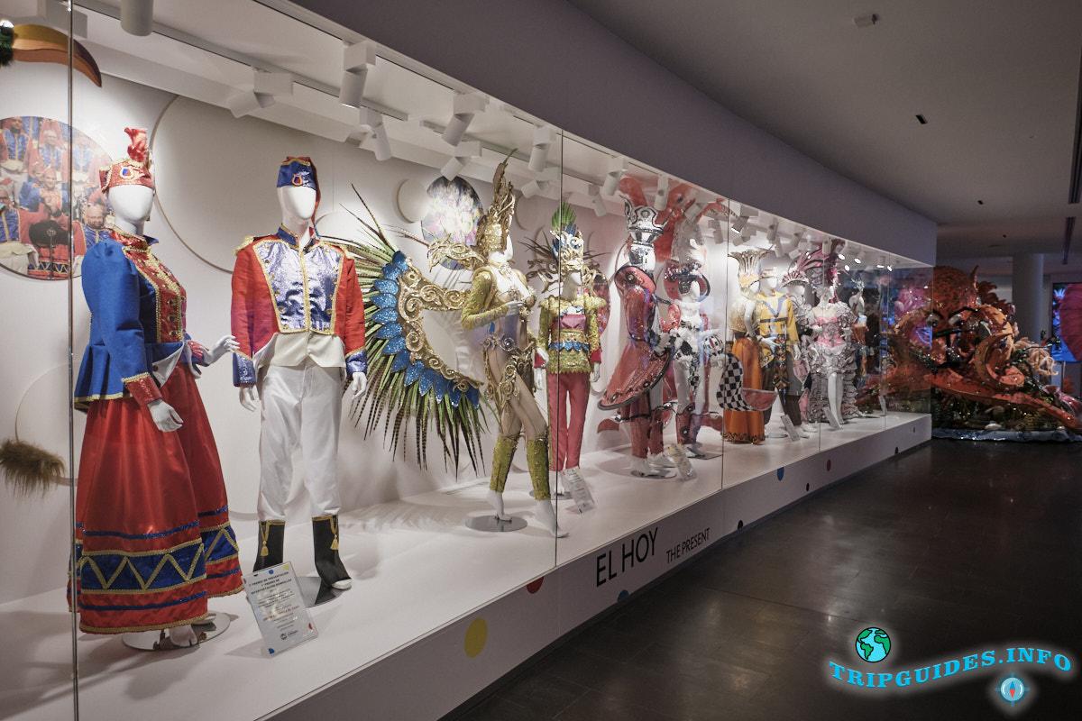 Дом-музей Карнавала в Санта-Крус-де-Тенерифе, Канарские острова, Испания