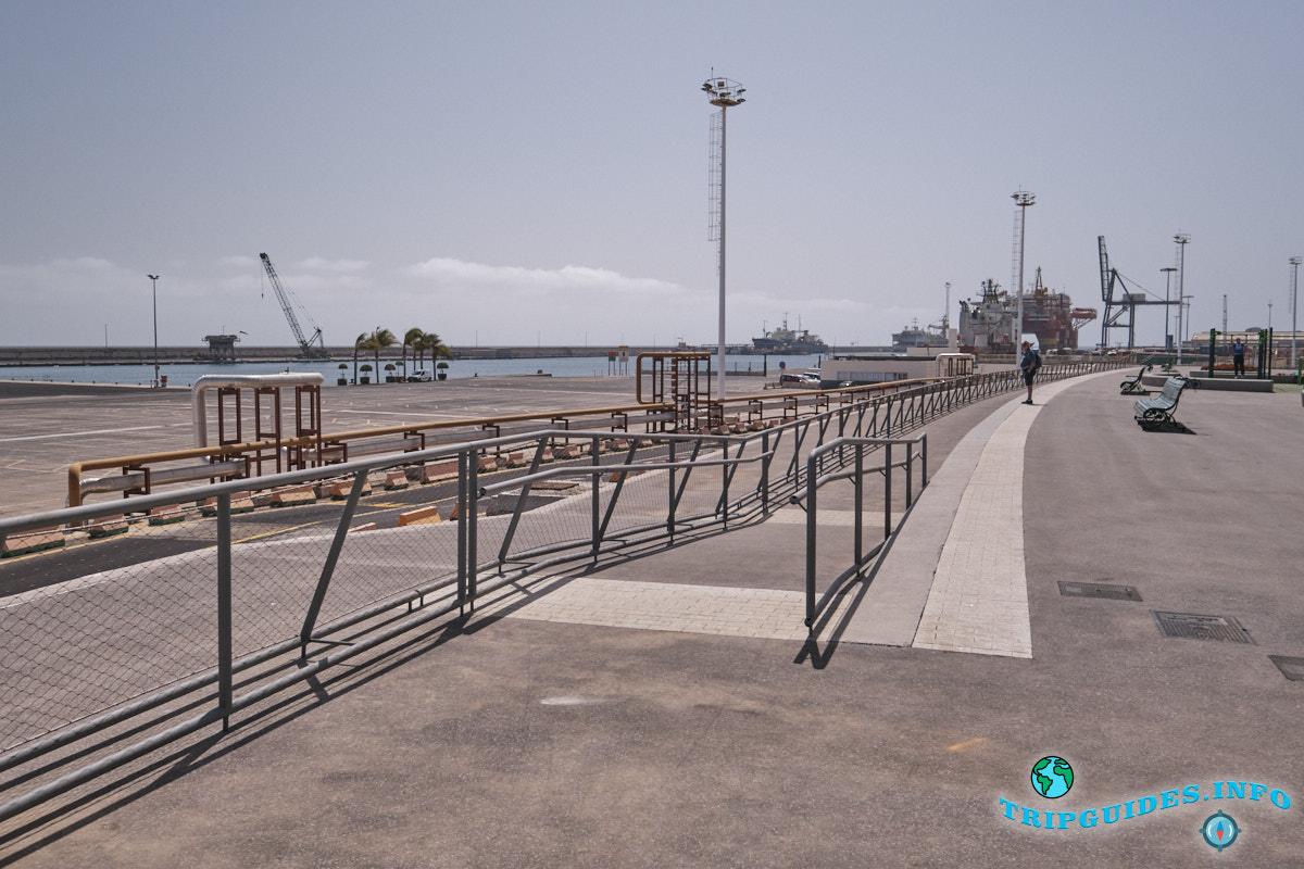 Береговая часть столицы Санта-Крус-де-Тенерифе
