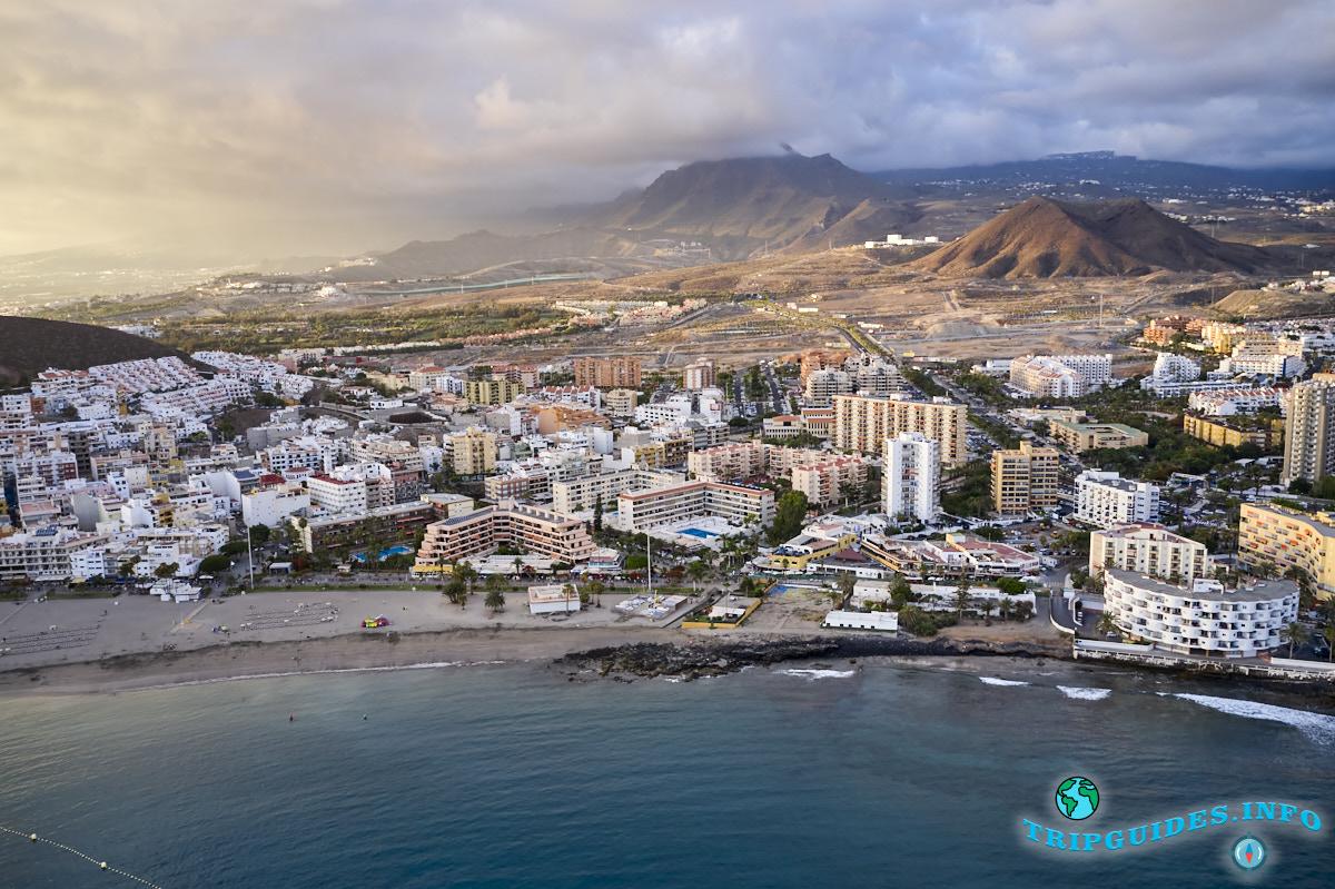 Лос Кристианос остров Тенерифе Испания