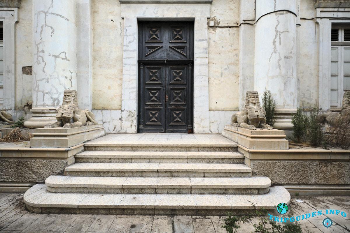 Масонский храм в Санта-Крус-де-Тенерифе, Канарские острова, Испания
