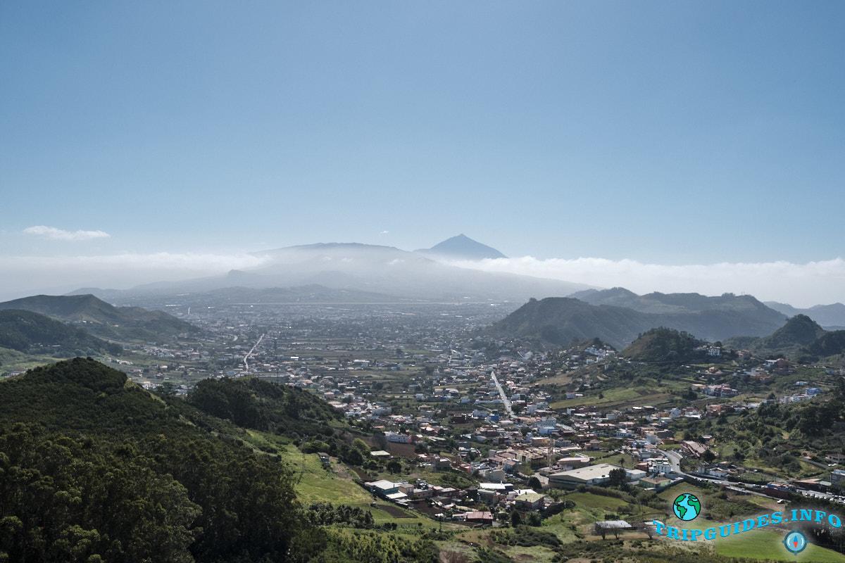 Жизнь на Тенерифе - горная местность на востоке, природный парк Анага