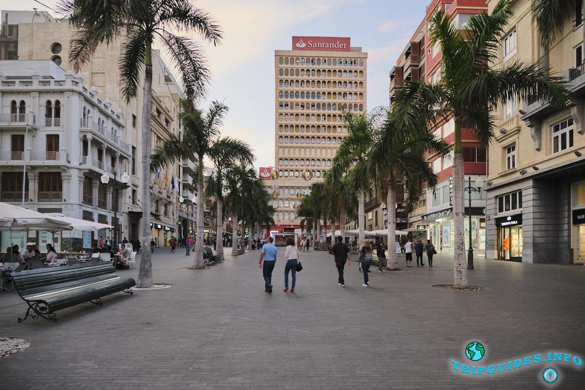 Жизнь на Тенерифе - город Санта-Крус, архитектура
