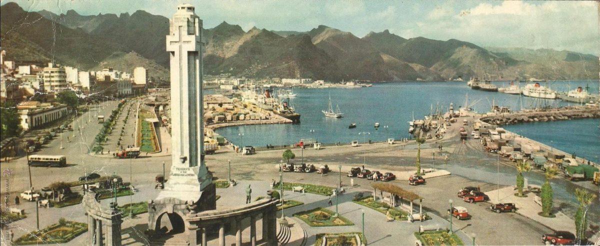 История морского порта Санта-Крус