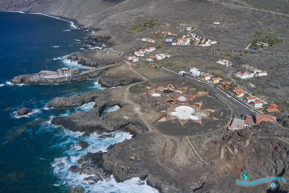 Cascadas del Mar - комплекс бассейнов в Ла-Фронтера на Эль Иерро, Испания