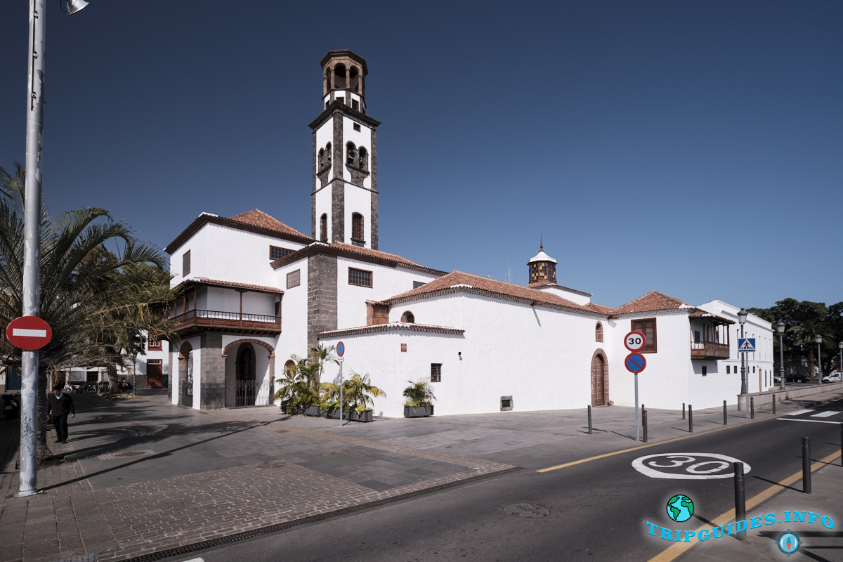 Церковь Непорочного Зачатия Пресвятой Девы Марии в Санта-Крус-де-Тенерифе, Канарские острова, Испания