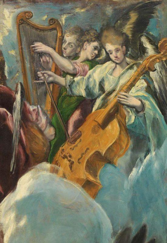 Работы художников в музее Прадо в Мадриде