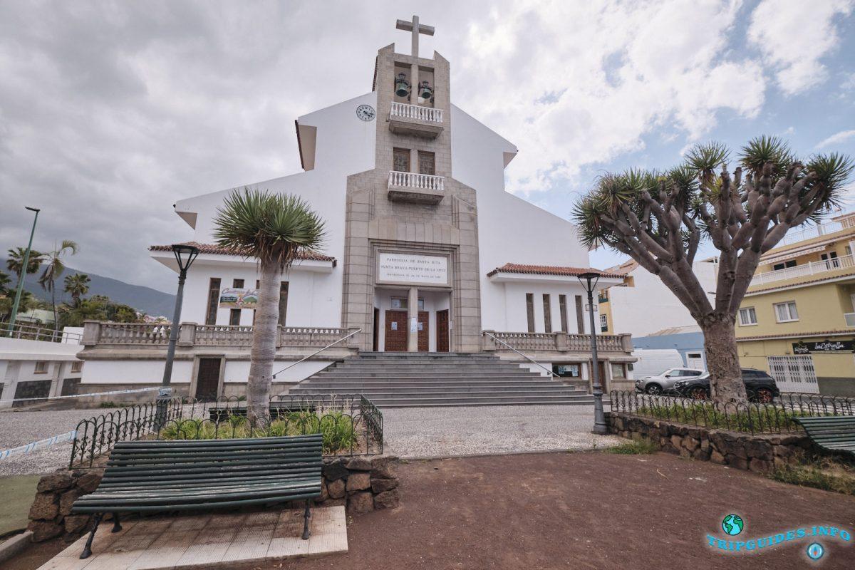 Церковь Iglesia de Santa Rita в Пуэрто-де-Ла-Крус Тенерифе Испания