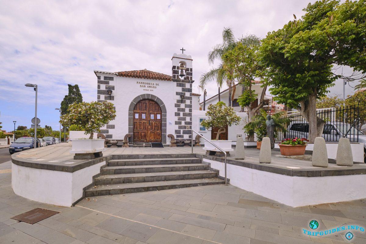 Часовня Сан-Амаро в Пуэрто-де-Ла-Крус Тенерифе Испания