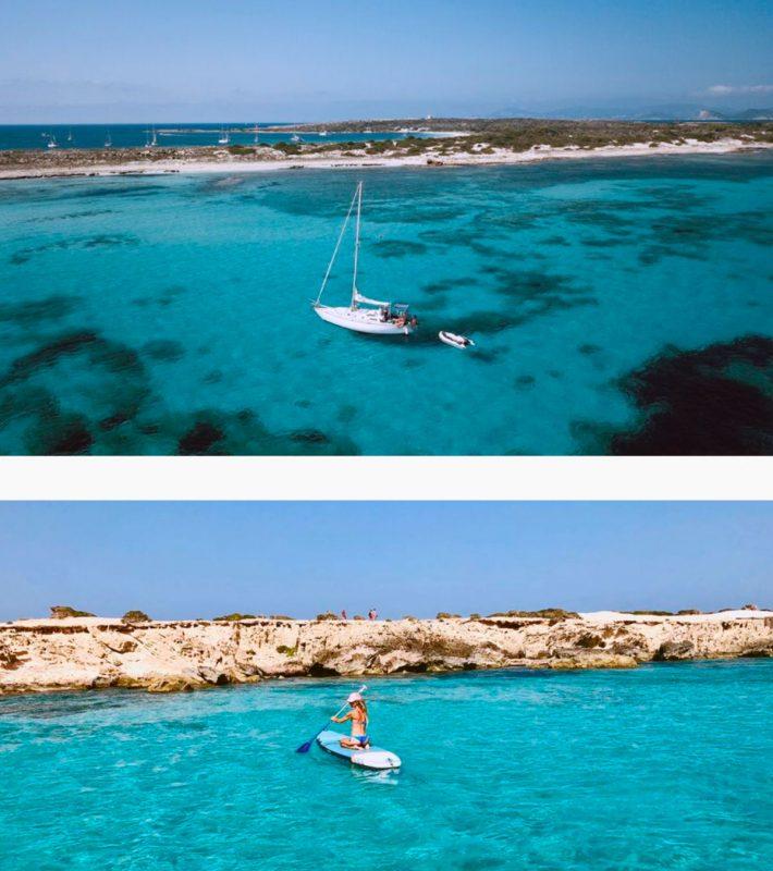 Экскурсия на яхте с Ибицы на Форментеру