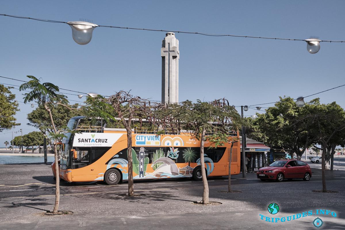 Экскурсия на туристическом автобусе «City View» в Санта-Крус-де-Тенерифе Испания Канарские острова