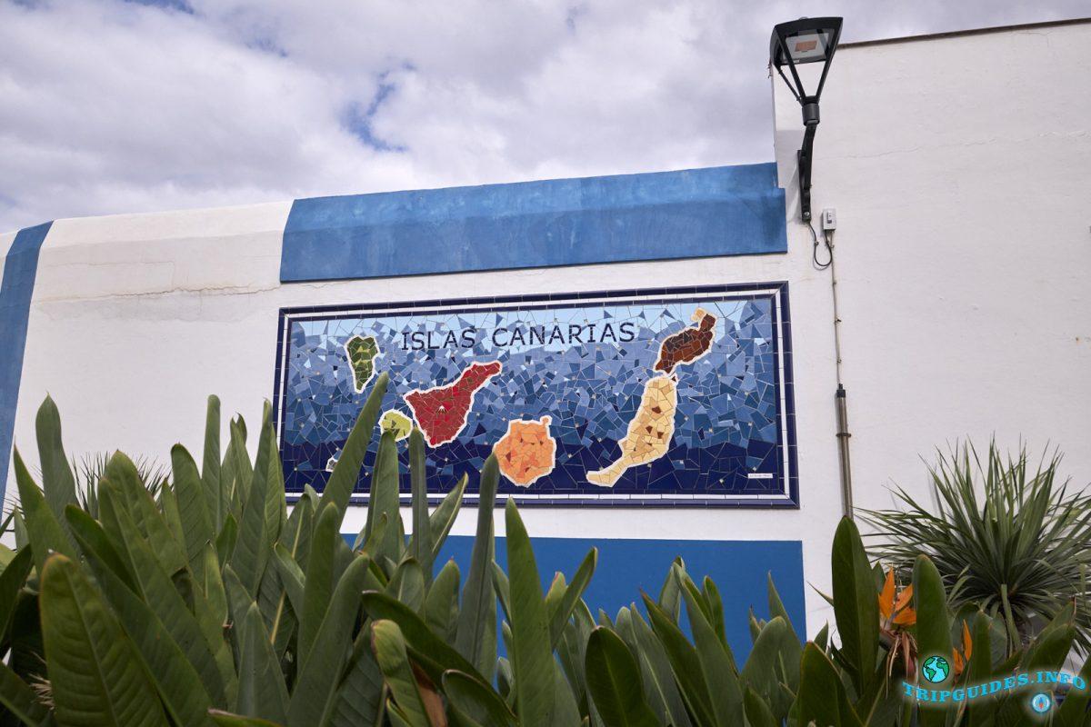 Город Пуэрто-де-Ла-Крус - Тенерифе, Канарские острова, Испания