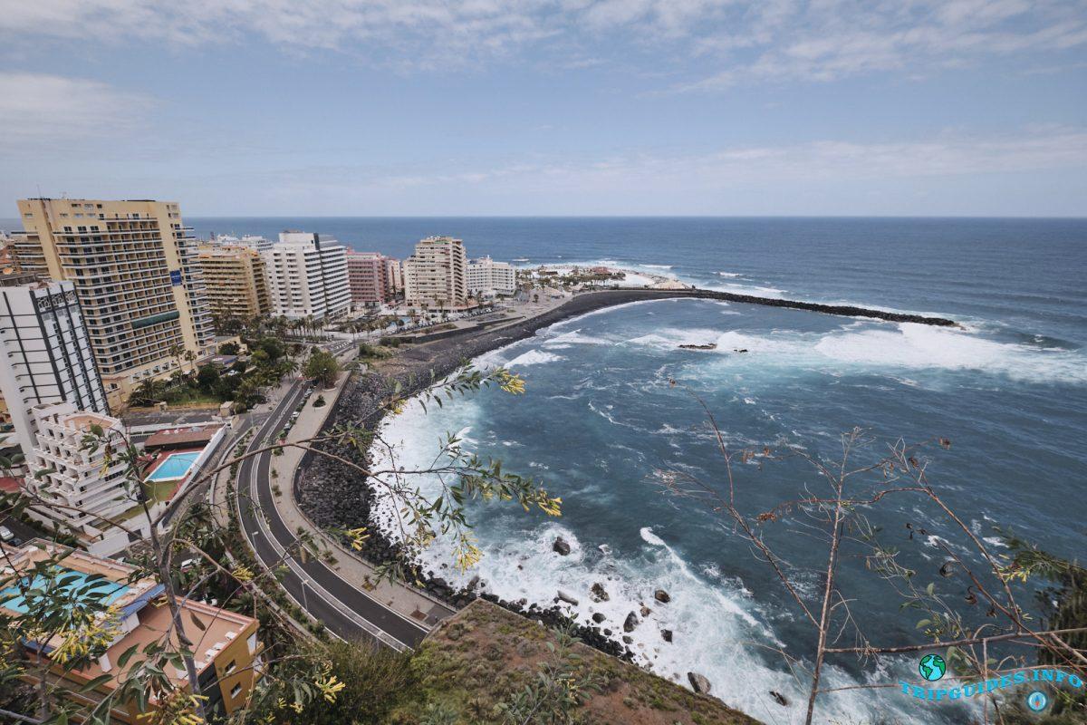 Mirador de la Paz в Пуэрто-де-Ла-Крус Тенерифе Испания