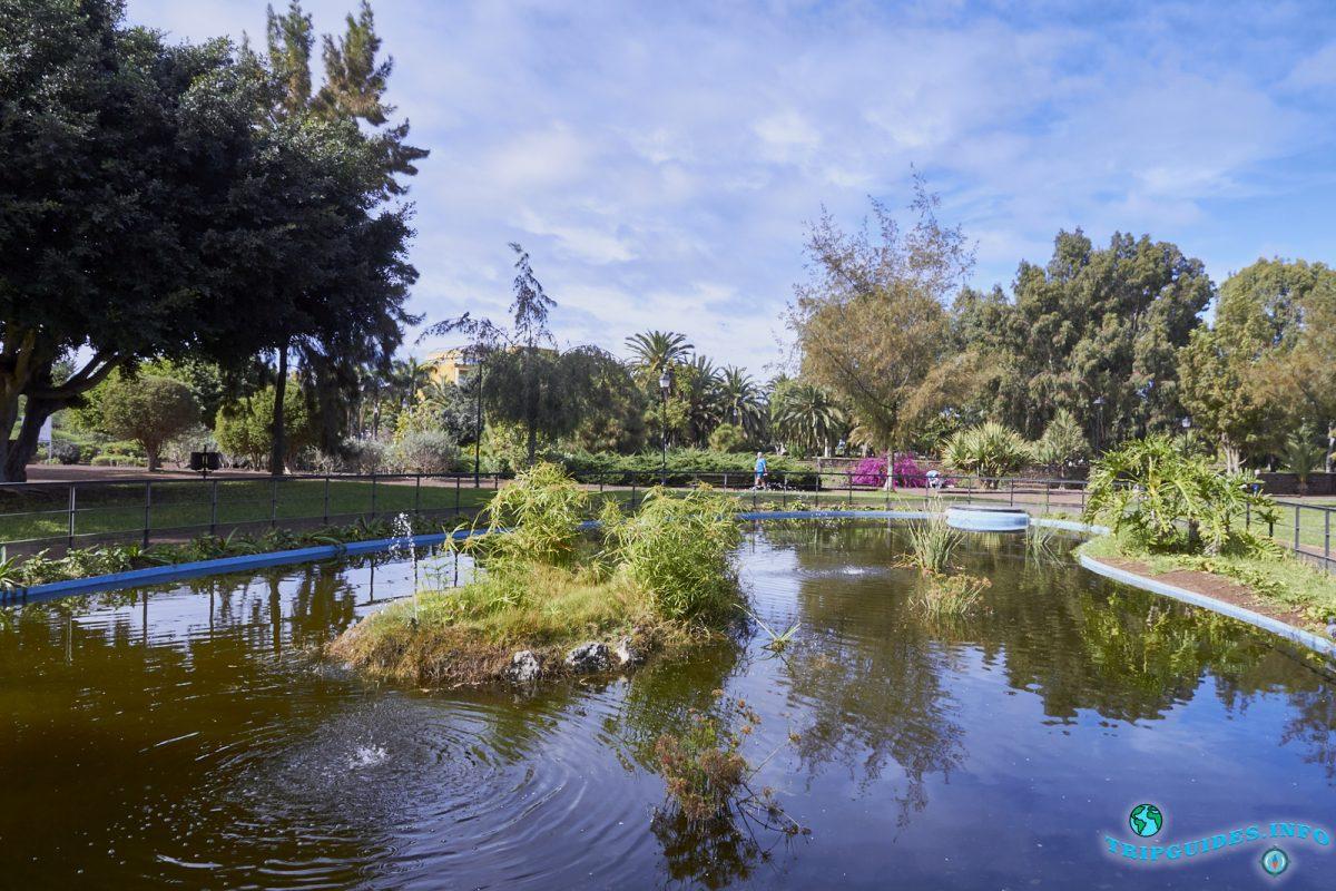 Парк Таоро в Пуэрто-де-Ле-Крус на Тенерифе, Канарские острова, Испания