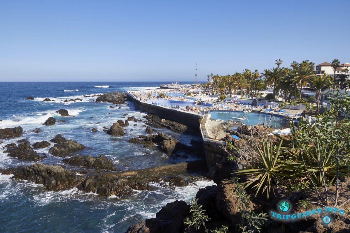 Бассейны Мартианес в Пуэрто-де-Ла-Крус - Тенерифе, Канарские острова, Испания