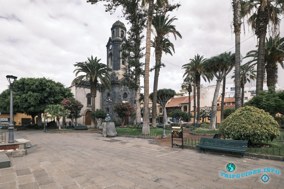 Церковь Нуэстра-Сеньора-де-Ла-Пенья-де-Франсия в Пуэрто-де-Ла-Крус на Тенерифе