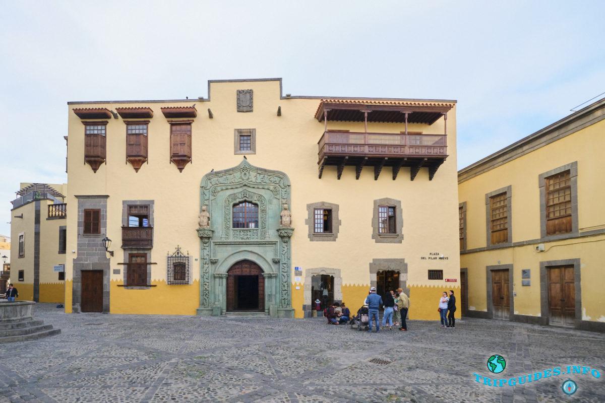 Дом Колумба в Вегете на Гран-Канарии, Канарские острова, Испания