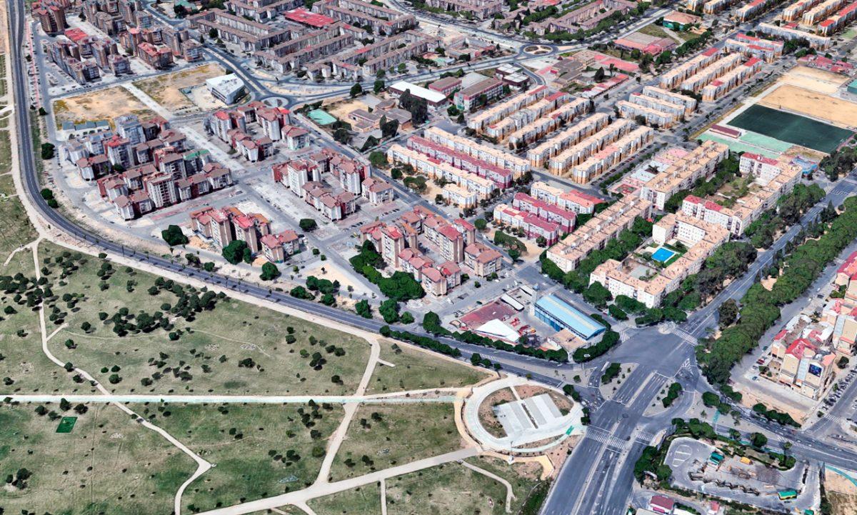Лас-Трес-Миль-Вивьендас в Севилье, Испания