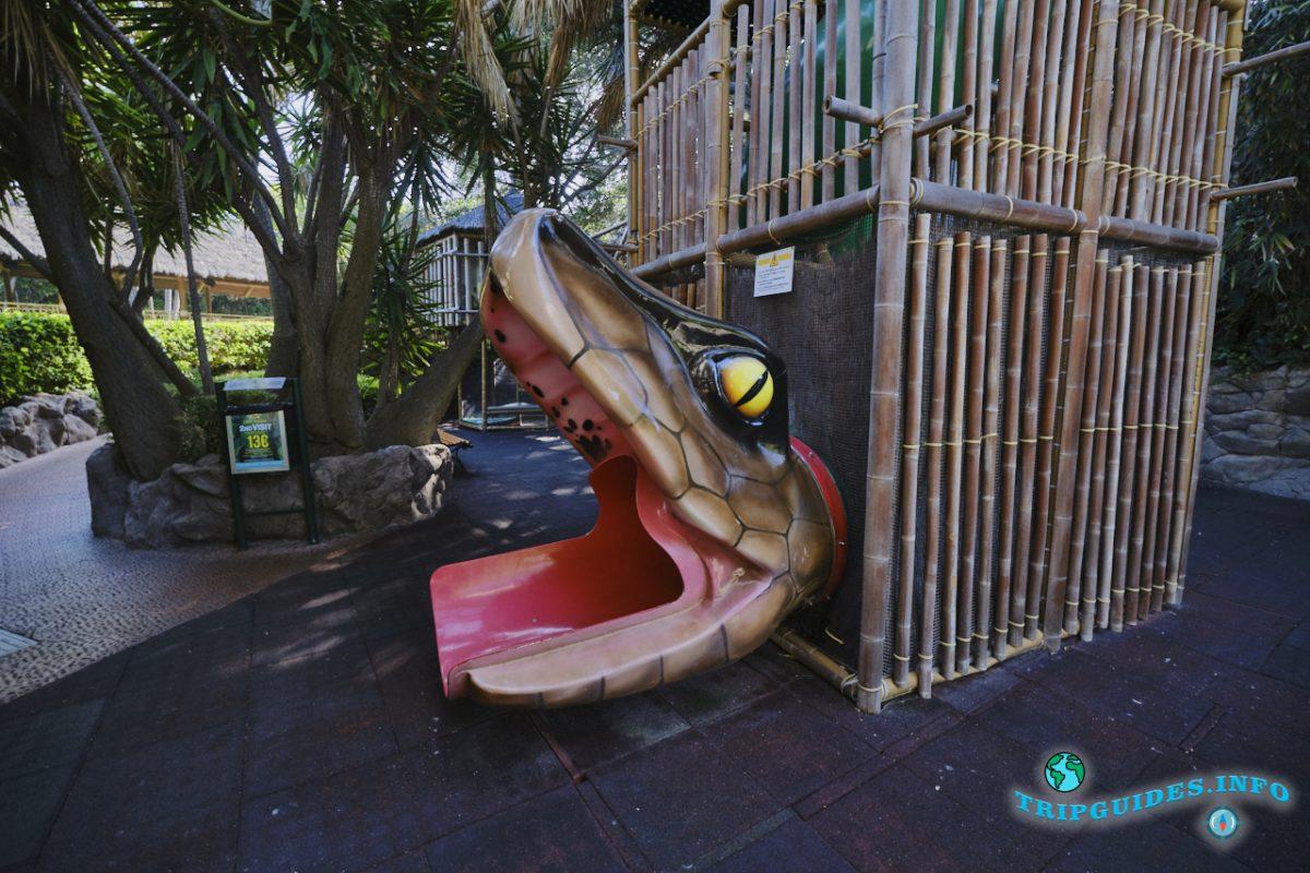 Киндерландия в Лоро парке Тенерифе