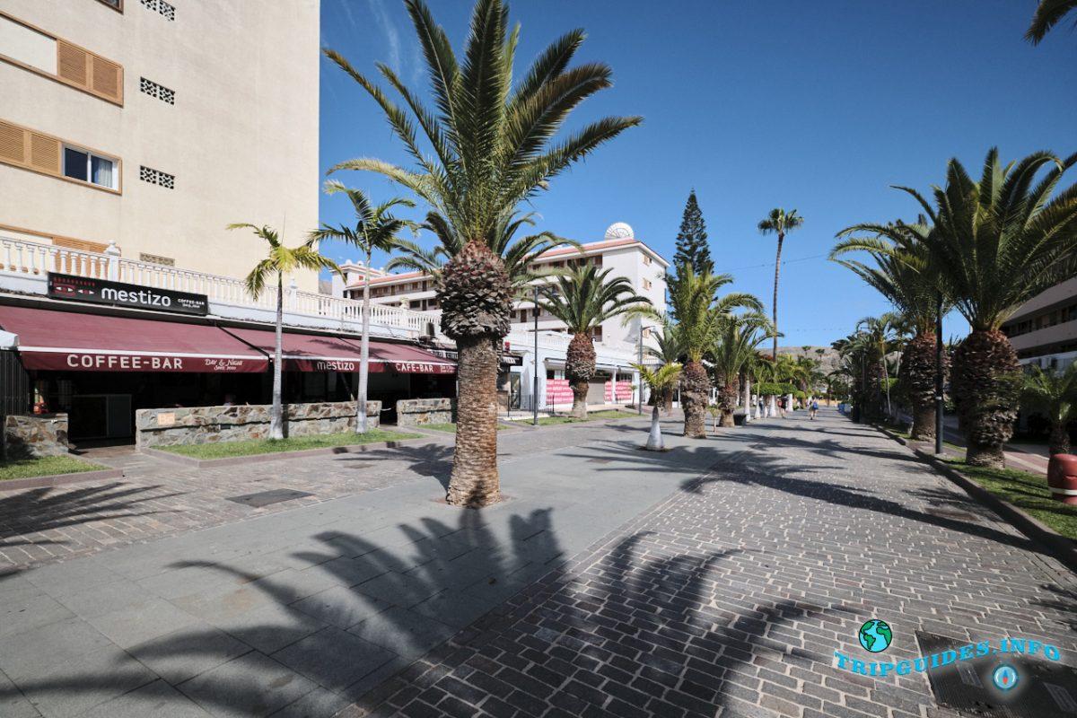 Лос-Кристианос Тенерифе, Канарские острова, Испания