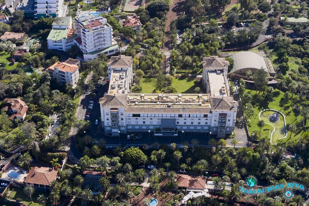 Отель Таоро в городе Пуэрто-де-Ла-Крус на Тенерифе, Канарские острова, Испания