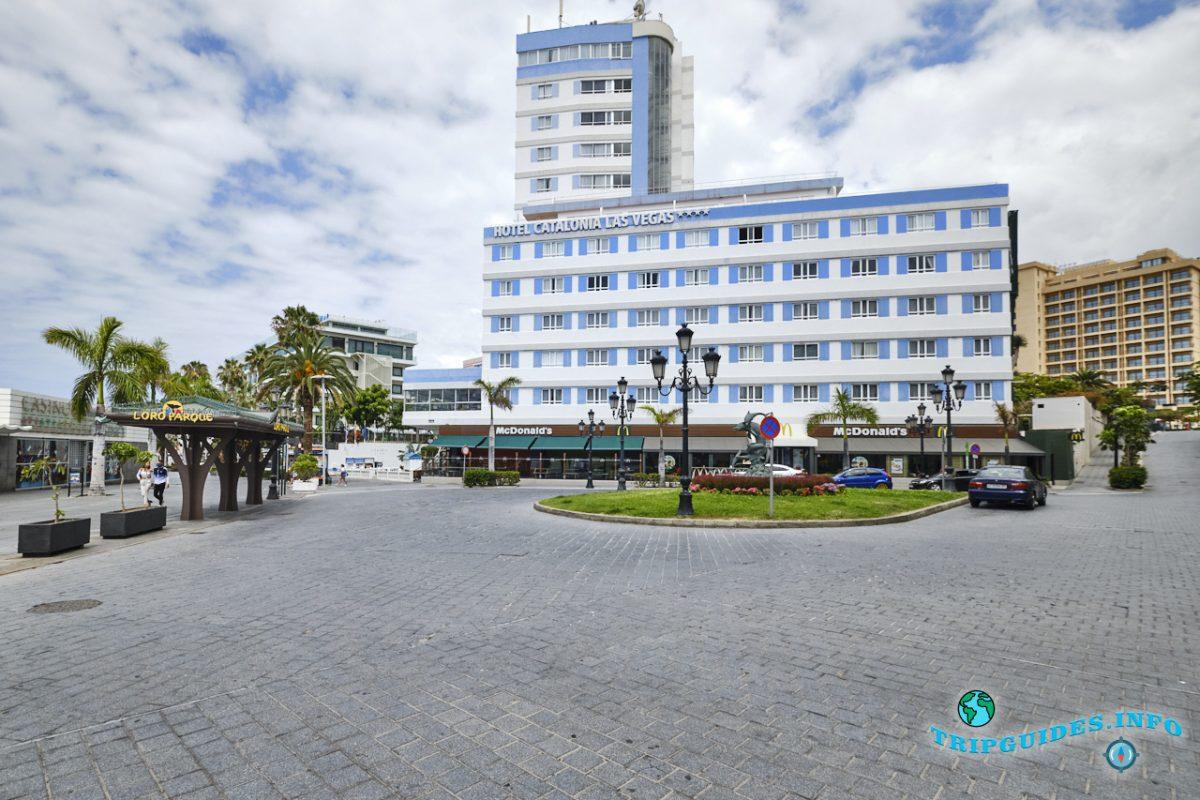 Отель Catalonia Las Vegas в Пуэрто-де-Ла-Крус - Тенерифе, Канарские острова, Испания
