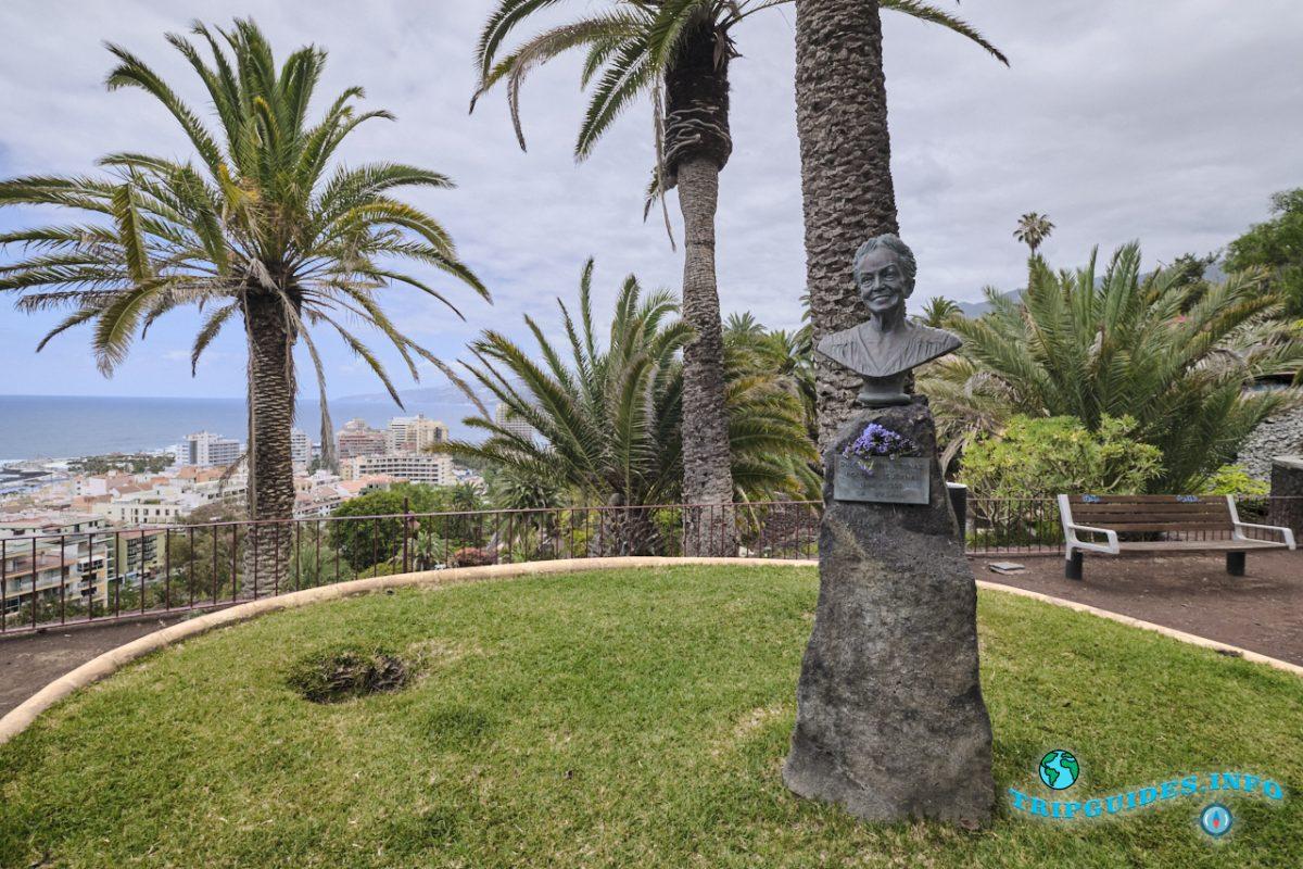 Парк Таоро в городе Пуэрто-де-Ла-Крус на Тенерифе, Канарские острова, Испания