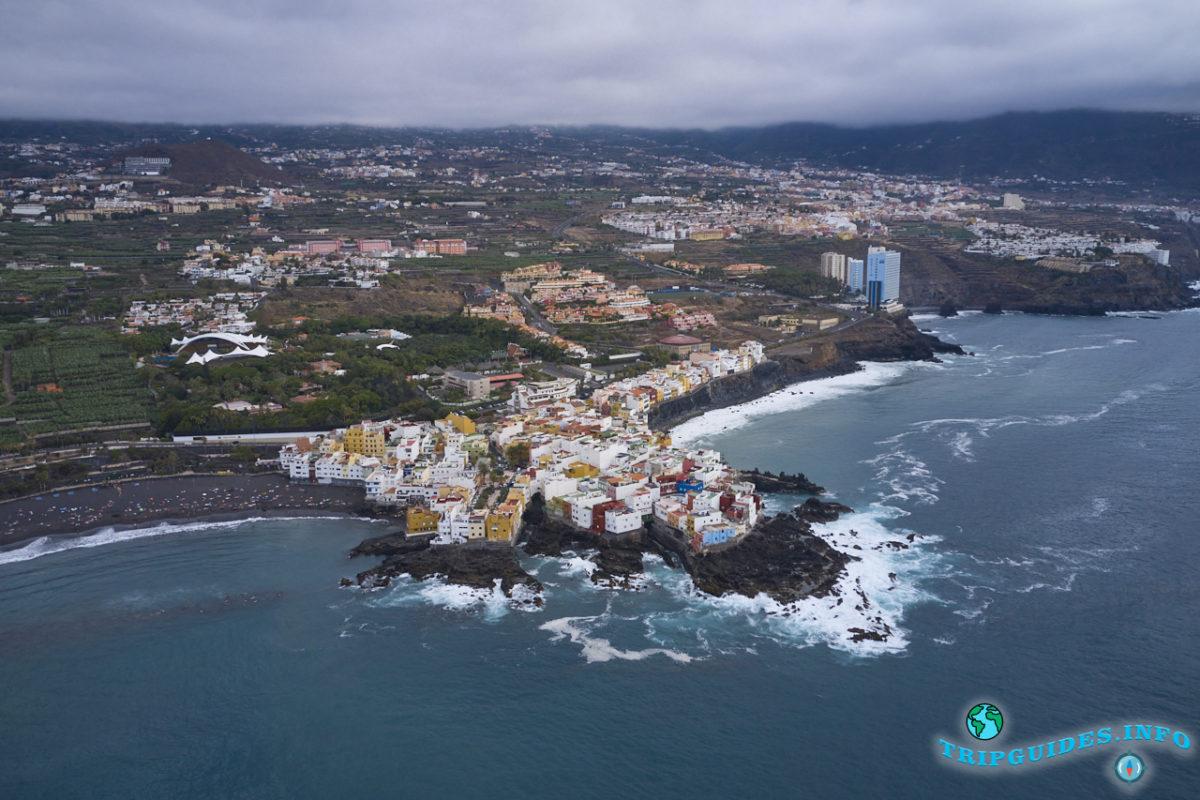 Пунта-Брава на Тенерифе, Канарские острова, Испания