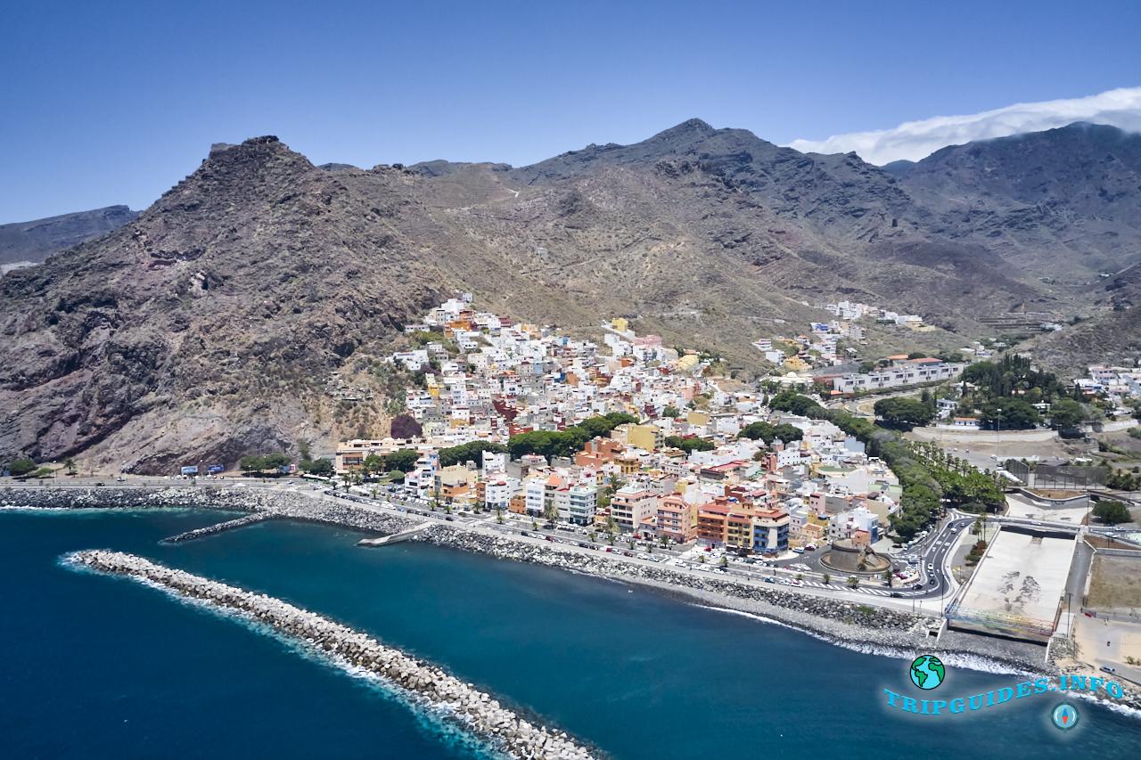 Сан-Андрес - деревня на Тенерифе, Канарские острова, Испания